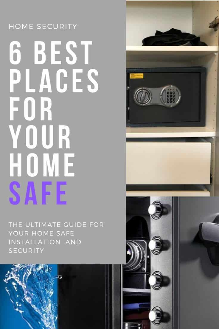 6 best places to install your home safe